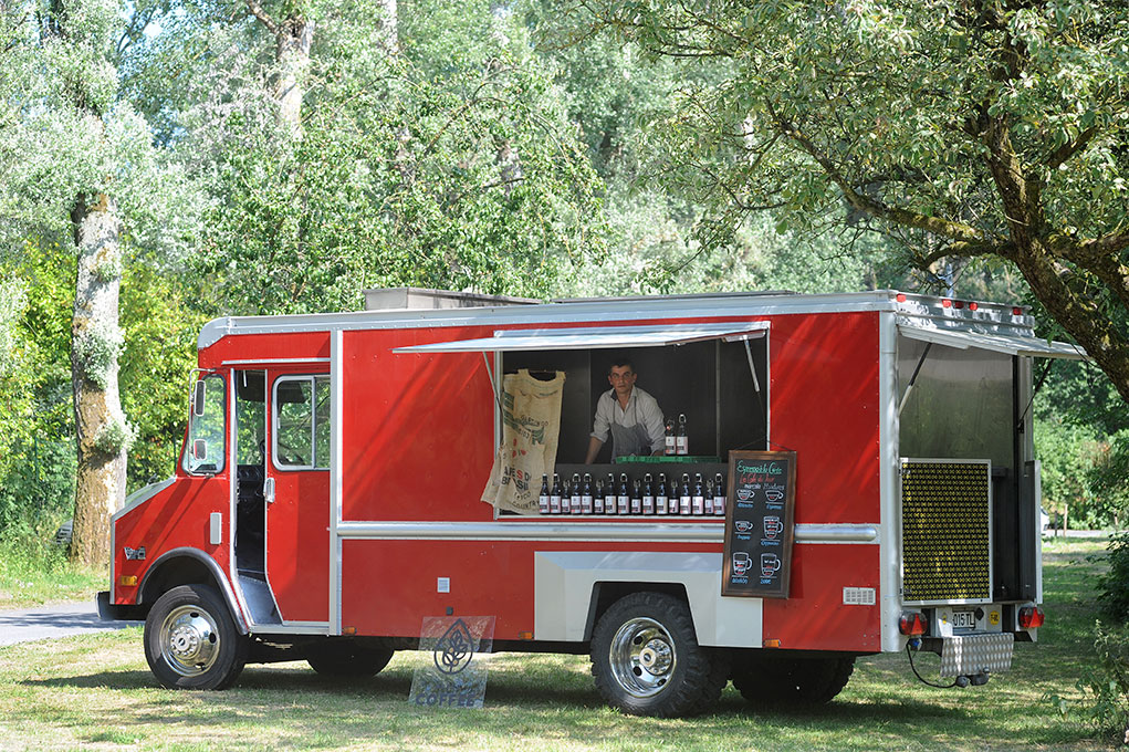 Fire chef coffee truck